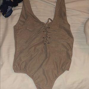 Light brown bodysuit